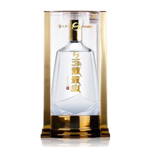 玉龙圣山酒透明盒装
