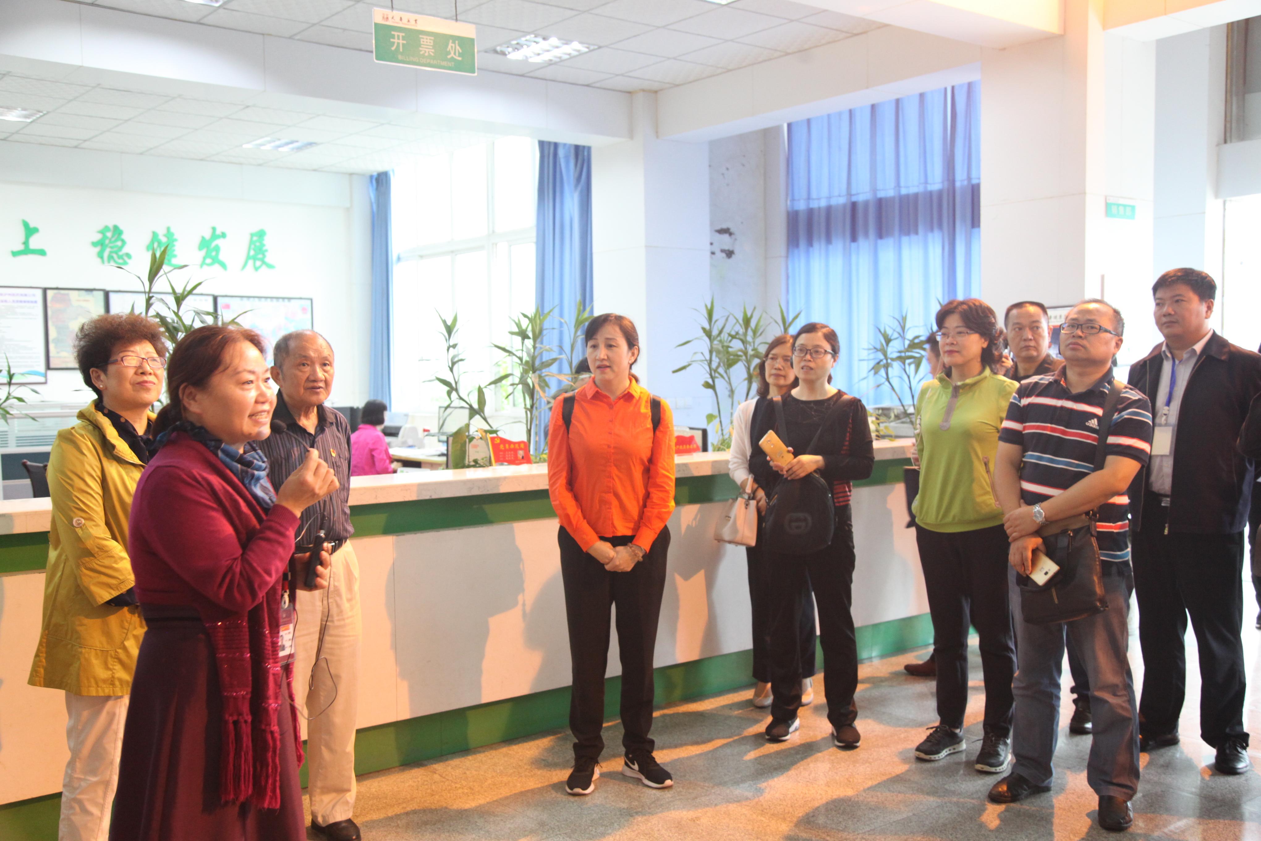 全省非公党(团)建工作培训班学员莅临天寿考察